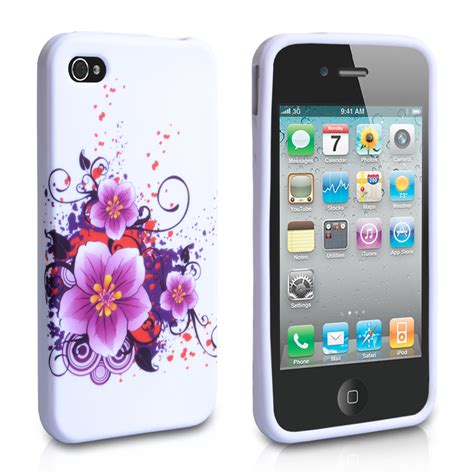 design iphone cover uk yousave accessories iphone 4 4s gel flower case design 3