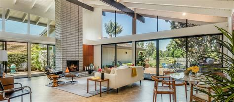 Midcentury Ranch by Modern Homes For Sale In Los Angeles Orange County