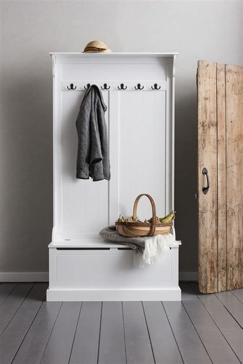 hall bench and coat rack hallway bench and coat hook shoe storage in white brittany