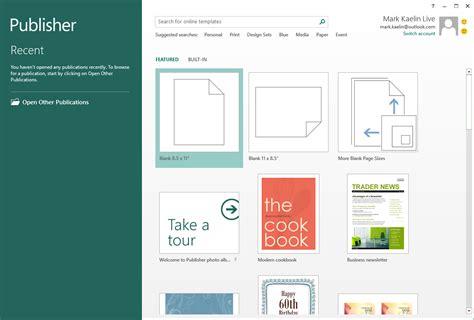 Screenshots Microsoft Office 2016 Preview Techrepublic Microsoft Office Templates Publisher