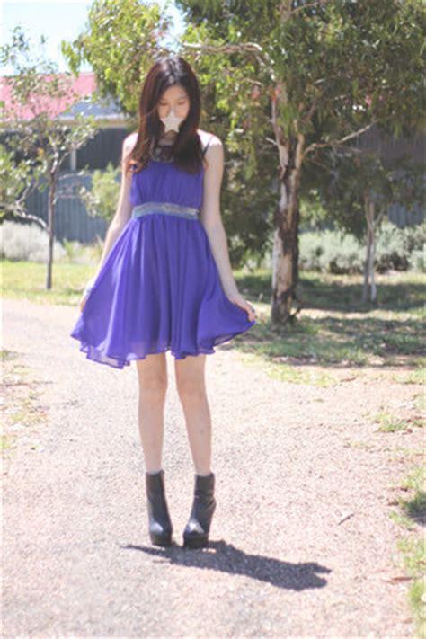 Valleygirl Back Dress black windor smith boots violet valley dresses