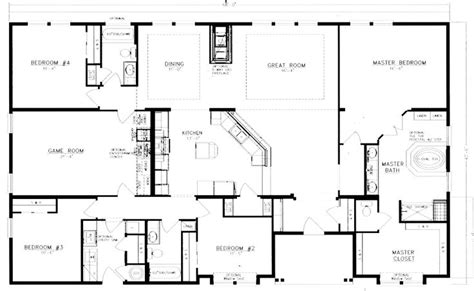 Home Plan Search 40x60 Barndominium Floor Plans Google Search House