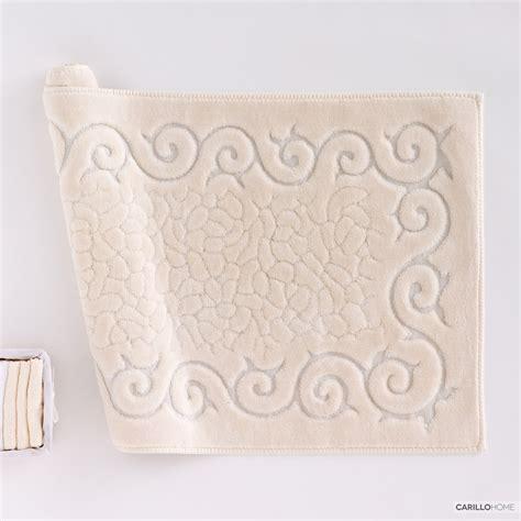 tappeti cotone tappeto bagno cotone regal carillo home