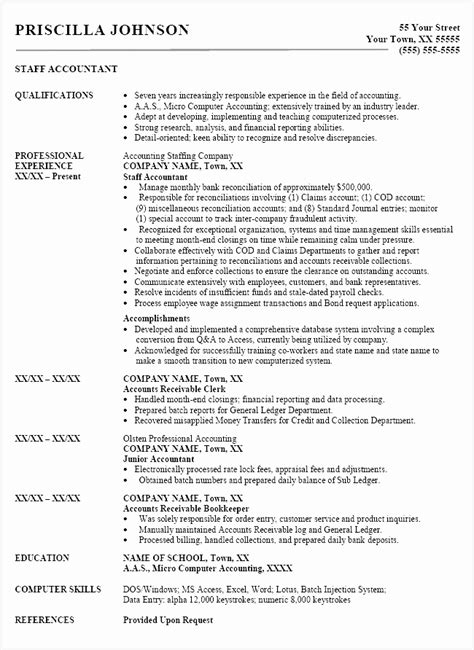Detailed Cv Template by 8 Cv Template Word Accountant Free Sles Exles