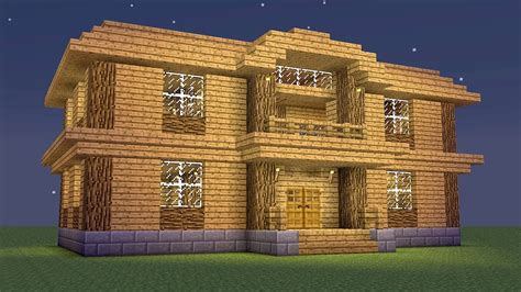 wood to build a house minecraft how to build a wooden mansion youtube