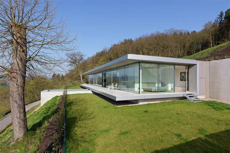 Modern Glass House gallery of villa k paul de ruiter architects 7