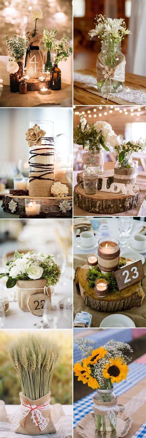 buy used wedding decor 17 best ideas about rustic centerpieces on