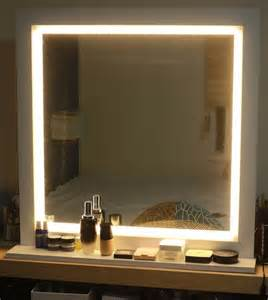 Lighted Vanity Mirror Hill Led Lighting Mirror For Make Up Or Starlet Lighted Vanity