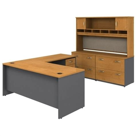 L Shaped Desk With Storage Series C 6 L Shape Desk With Storage In Cherry Bsc044 724