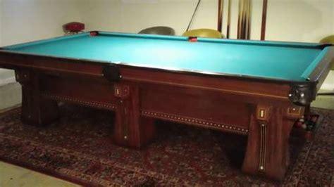 10 ft pool table brunswick arcade vintage 10 ft pool table 6 legs gorgeous