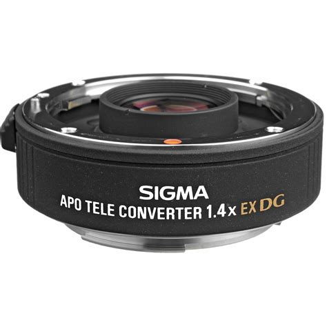 sigma apo teleconverter 1 4x ex dg sigma apo teleconverter 1 4x ex dg for canon ef 824101 b h