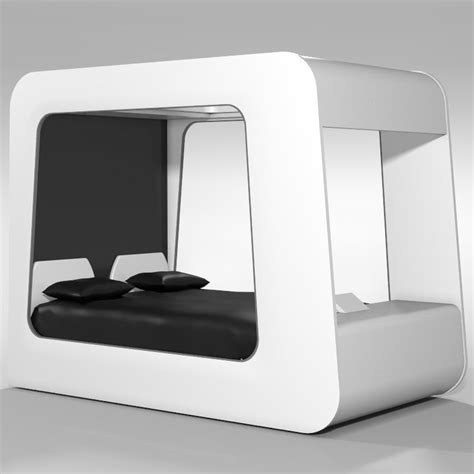 futuristic beds 3d model futuristic bed