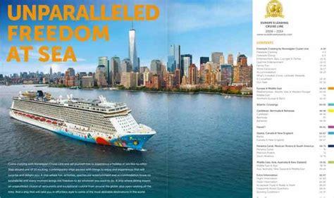 norwegian cruise brochure norwegian s 2016 2017 digital freestyle cruising brochure