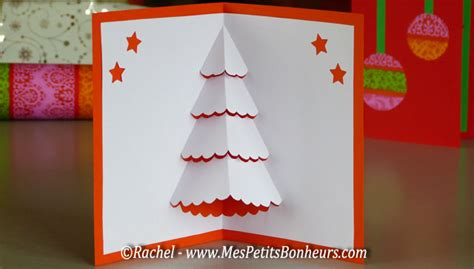 dreamy noel chritmas card template free printable 3d card tree pop up