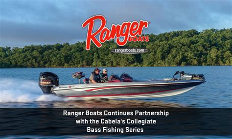 ranger boats cabela s ranger boats continues partnership with the cabela s