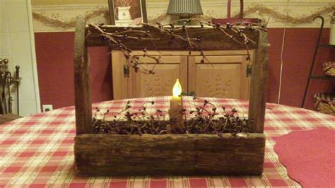primitive crafts and items to make for home