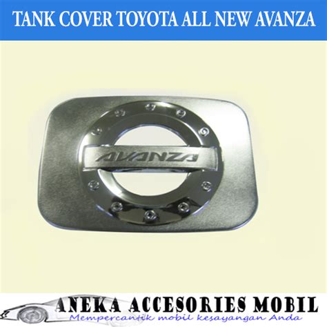 Tank Cover Tutup Tangki All New Avanza Model Prestige 1 garnish tutup bensin mobil toyota all new avanza import
