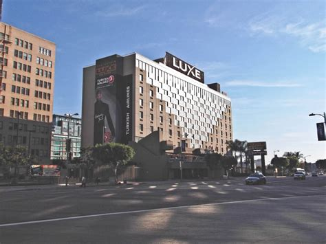 Los Angeles Hotel Luxe 4245 by Luxe City Center Hotel Los Angeles Accommodation