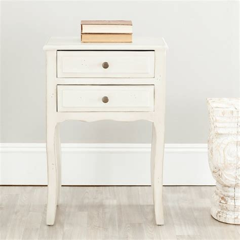 30 Inch High Nightstand Safavieh Sete White Stand