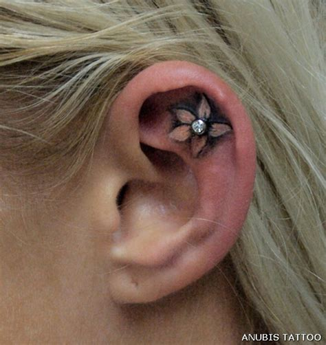 55 incredible ear tattoos art and design