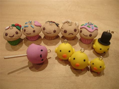 new polymer clay charms by piinkkittyy on deviantart