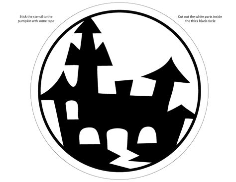 printable pumpkin stencils pdf pin of canada pdf format from coloring castle kid zone on