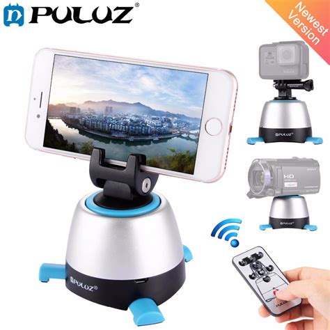 Smart 360 Degree Panorama Remote Controller Kd 360 aliexpress buy puluz electronic 360 degree rotation panoramic tripod with remote