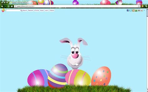 firefox themes safari easter bunny chrome firefox ie and safari theme for your