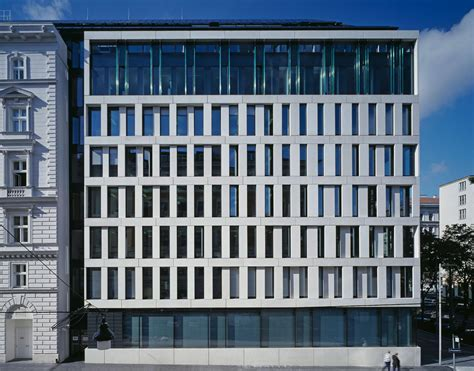 volksbank haus konzernzentrale volksbank wien carsten roth architekt