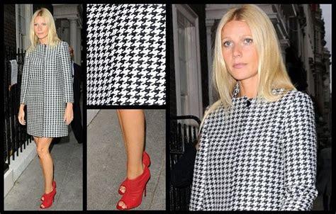 Gwyneth Supports L Lo by Gwyneth Paltrow Y Su Look Pata De Gallo Paperblog