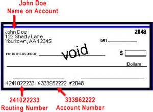 Bank Routing Number Itex Pay