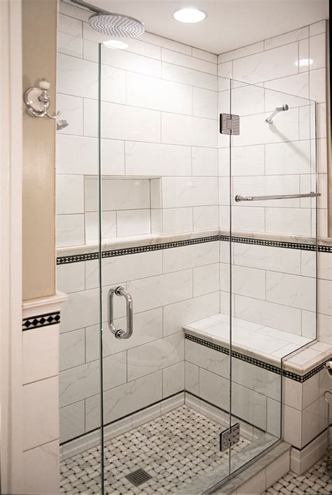 Shower Enclosure With Bench Glass Shower Enclosures Bathroom Renovations