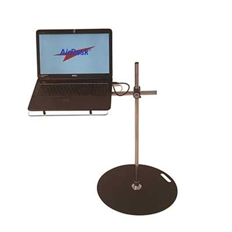 swing away laptop table laptop desk amazing airdesks 174