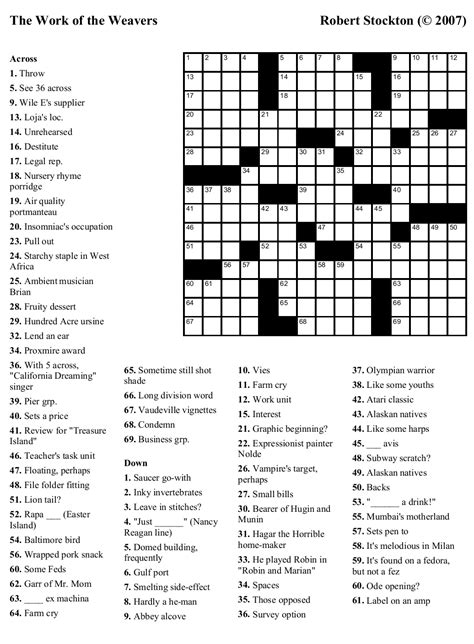 large print easy crossword puzzles printable 8 best images of easy printable crossword searches large