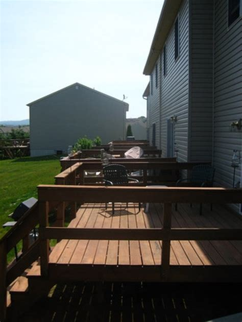 clean paint  trex decking hunker