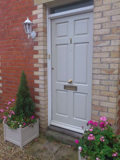 white front door farrow and ball old white house external pinterest