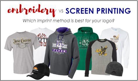 vinyl printing vs silkscreen embroidery vs screen print makaroka com