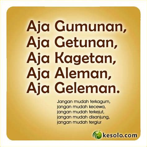 8 kata bijak bahasa jawa dan artinya