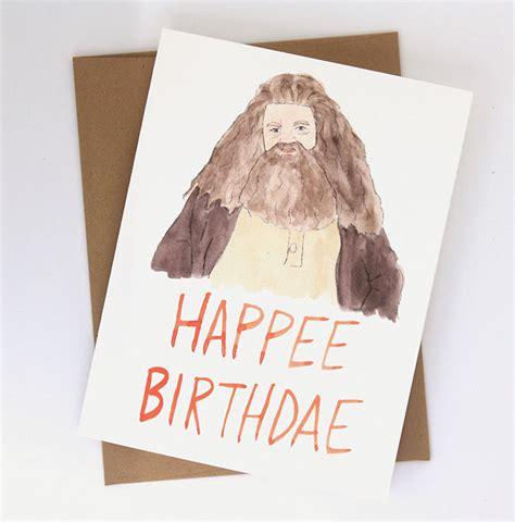 Harry Potter Themed Birthday Cards 15 Harry Potter Gift Ideas For True Potterheads Bored Panda
