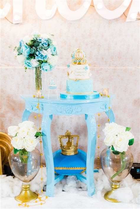 Kara's Party Ideas Vintage Cinderella Birthday Party   Kara's Party Ideas