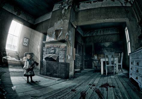 horror house haunted house hd wallpaper wallpapersafari