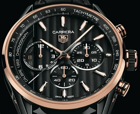 Jam Tangan Pria Tagheuer Batik Black tag heuer debuts calibre 1969 with black gold limited edition ablogtowatch