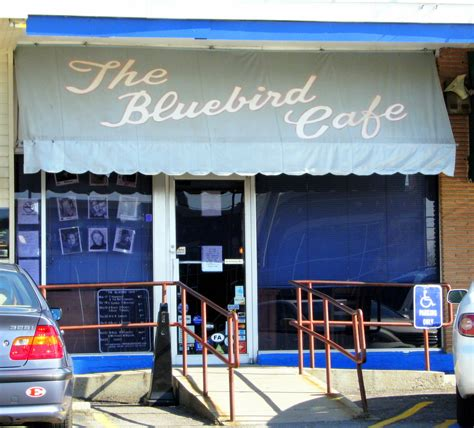 Bluebird Cafe Calendar The Bluebird Cafe Storefront This Unassuming
