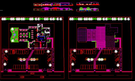 restaurantfast food dwg block  autocad designs cad