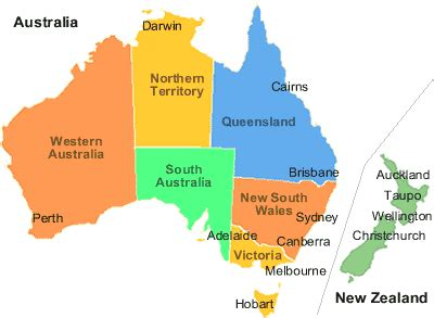 map of australia and nz civil aviation airlines in australia