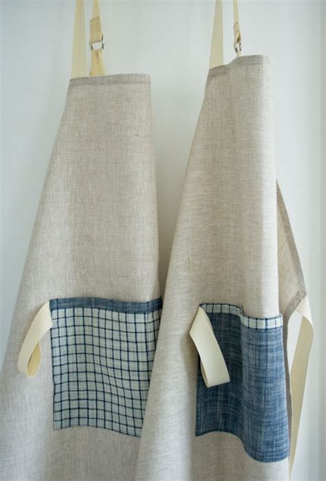 pattern for simple apron simple linen apron sketchbooks purl bee and knitting