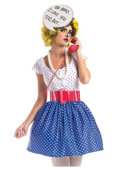 diy costumes adult pop art cutie costume