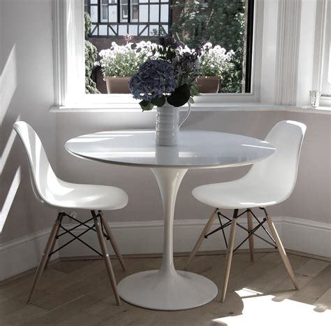 tulip dining table 90cm the furniture company ltd