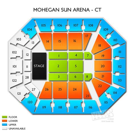 mohegan sun arena floor plan mohegan sun floor plan meze blog