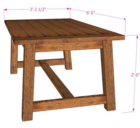 how to make a farmhouse dining table large and beautiful remodelaholic build a farmhouse dining table